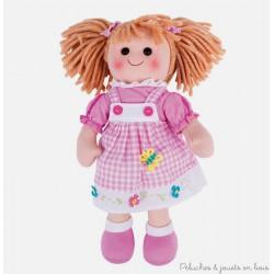 Grande poupée de chiffon Eva 30 cm