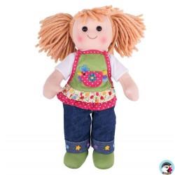 Grande poupée de chiffon Sophia 30 cm