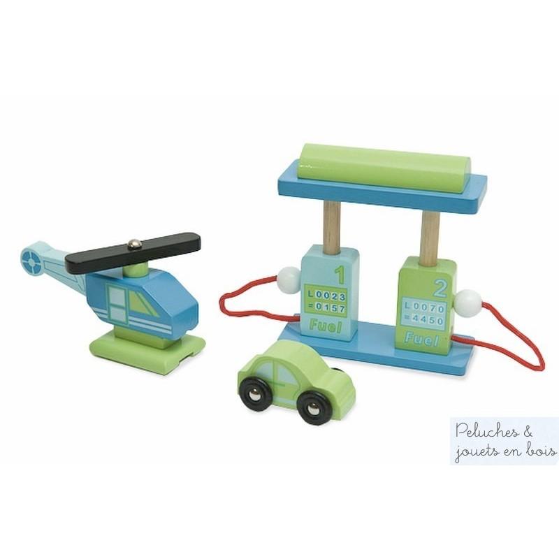 Jouet en bois grand garage le toy van 3 tages et ascenseur 3 ans - Grand garage voiture jouet ...