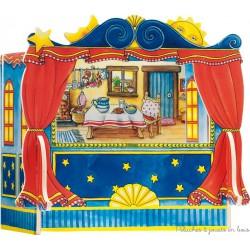 Théâtre de marionnettes à doigt