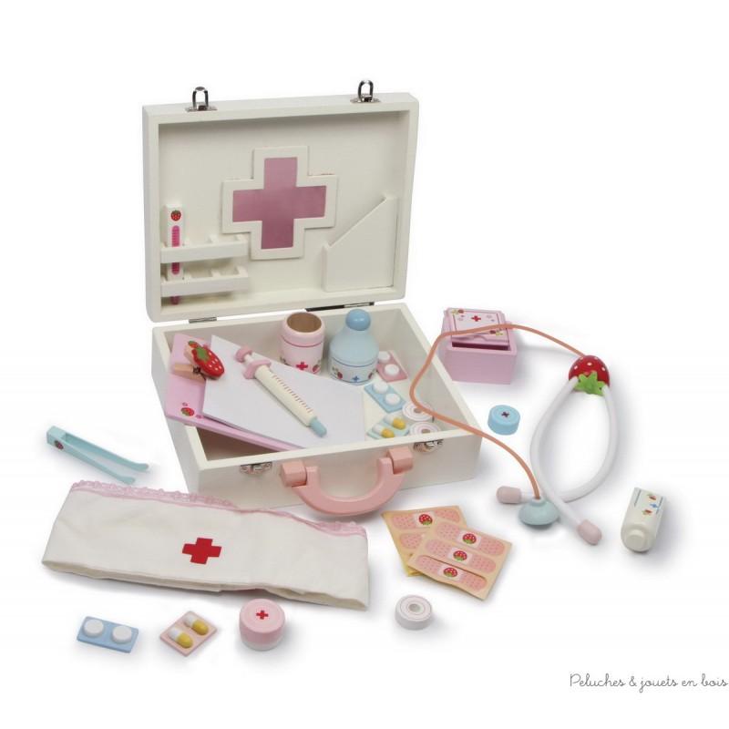 valise de docteur isabelle peluches et jouets en bois. Black Bedroom Furniture Sets. Home Design Ideas