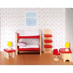 Meubles de poupées Chambre des enfants