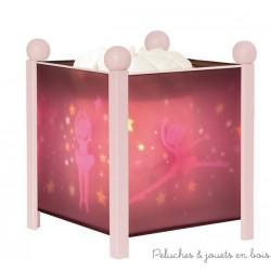 Lanterne magique Ballerines- rose 12V