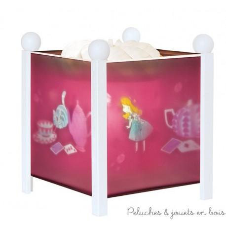 Lanterne magique Alice - blanc 12V