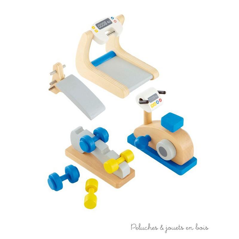 gym et fitness la maison hape peluches et jouets en bois. Black Bedroom Furniture Sets. Home Design Ideas