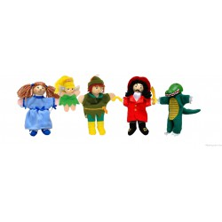 """Coffret de marionnettes à doigt """"Peter Pan"""""""