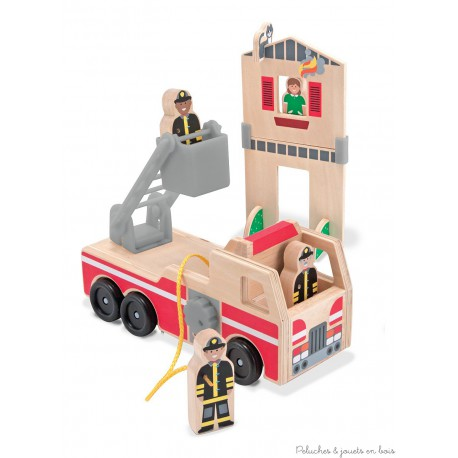 Ensemble de sauvetage et de pompiers