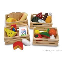 Caissettes des groupes alimentaires