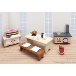 meubles pour château de poupée, cuisine