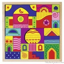Puzzle, mosaïque et jeu de construction 1001 nuits