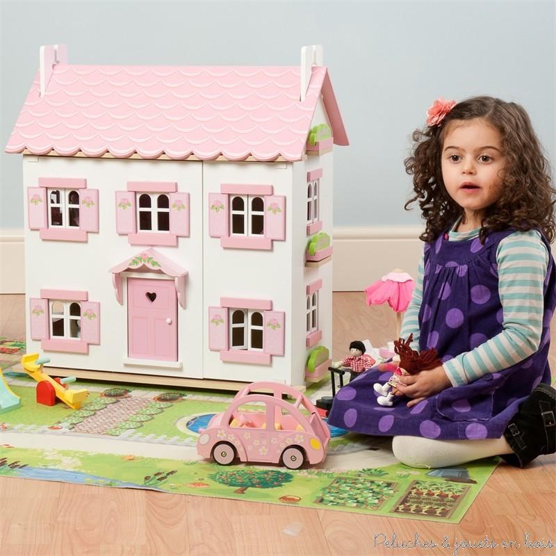Le toy van la maison de sophie peluches et jouets en bois for Les bois flottes de sophie