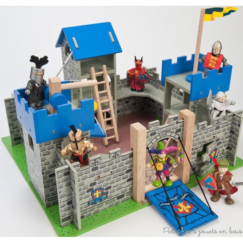 le toy van le ch teau fort escalibur peluches et jouets en bois. Black Bedroom Furniture Sets. Home Design Ideas