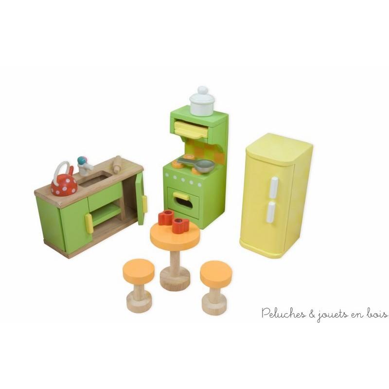 Le toy van la cuisine sugar plum verte meubles pour for Toy van cuisine
