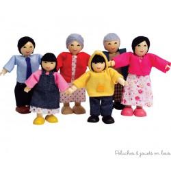 Famille heureuse : Asiatique