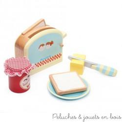 Le Toy Van, ensemble du petit déjeuner grille pain Honeybake