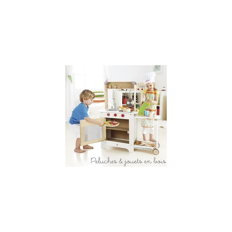 Cuisine du chef hape peluches et jouets en bois for Cuisine hape