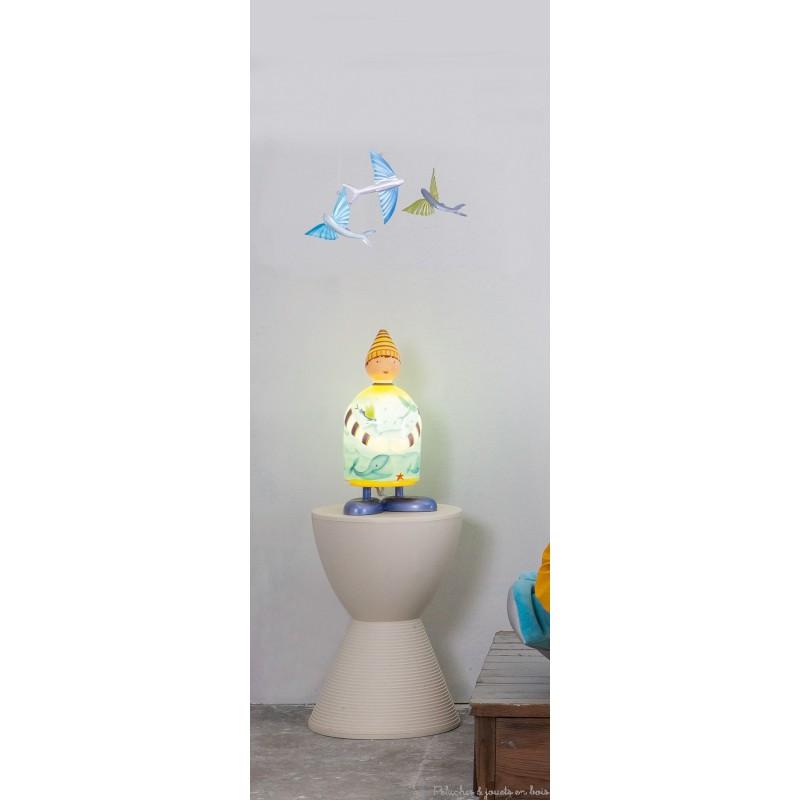 Lampe chambre bb garcon beautiful latest auc with lampe for Lampe chambre bebe garcon