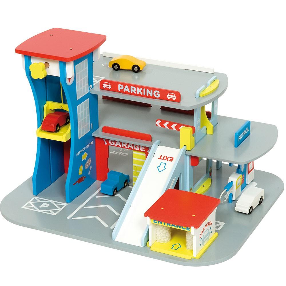 garage voiture jouet. Black Bedroom Furniture Sets. Home Design Ideas