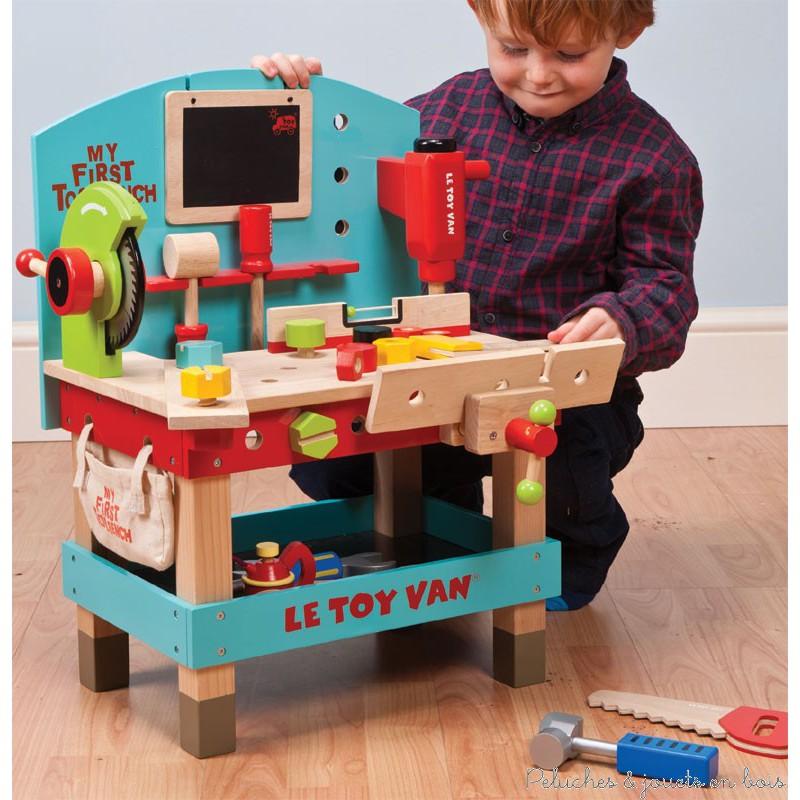 le toy van mon premier atelier peluches et jouets en bois. Black Bedroom Furniture Sets. Home Design Ideas