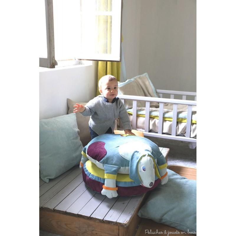 pouf edgar l 39 oiseau bateau d co chambre b b enfant. Black Bedroom Furniture Sets. Home Design Ideas