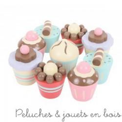Set de 8 cupcakes