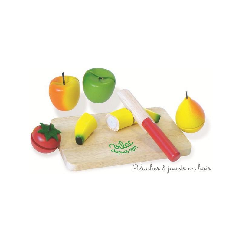 fruit l gumes d couper jouet bois vilac. Black Bedroom Furniture Sets. Home Design Ideas