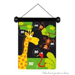 jeu de flechettes magnétiques Zoo