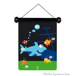 jeu de flechettes magnétiques Vie marine