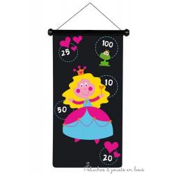 jeu de flechettes magnétiques princesse