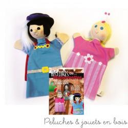 Coffret de 2 marionnettes à main La Belle Au Bois Dormant