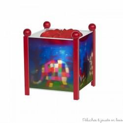 Lanterne magique Elmer© l'éléphant - Rouge