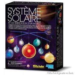 Mobile du système solaire phosphorescent