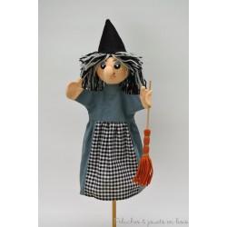 Marionnette à main personnage La Sorcière