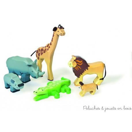 Le Toy Van, Les animaux de la savane