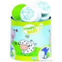 Aladine stampo baby Animaux de la ferme 5 tampons + encreur 03802