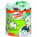 Aladine Stampo Minos Ferme 10 tampons + encreur 85102