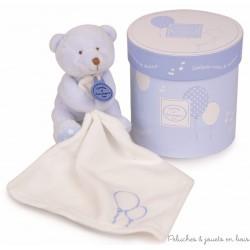 Boîte musicale vol au vent et ours bleu