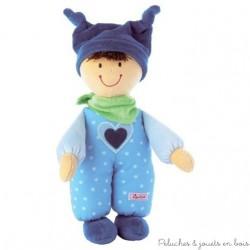 Sigikid Poupée babydolly bleue
