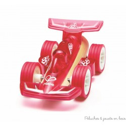 Véhicule Miniature Racer Rouge Hape
