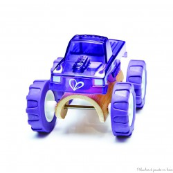 Véhicule Miniature Monster Truck Violet Hape