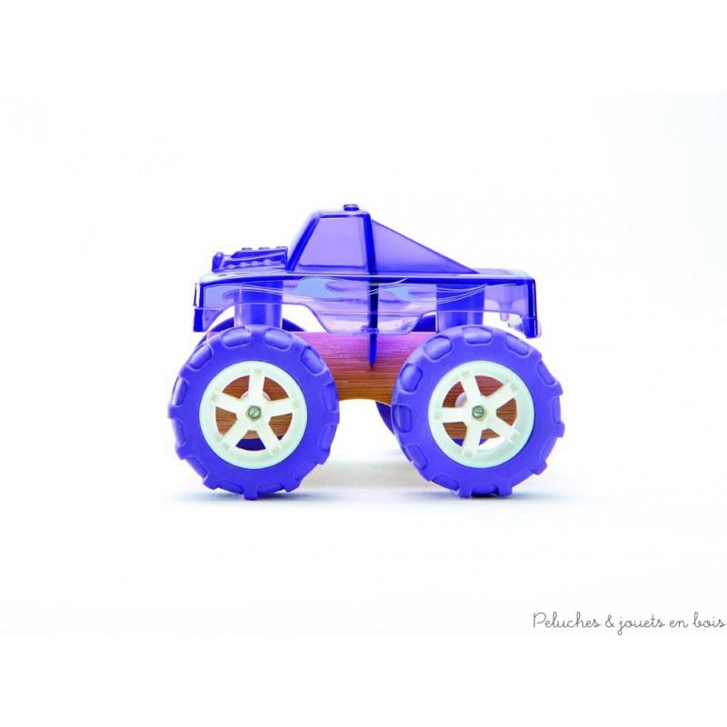 vehicule monster truck miniature de la marque hape pour 3 ans. Black Bedroom Furniture Sets. Home Design Ideas