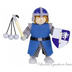 Goki Poupée Articulée Chevalier bleu