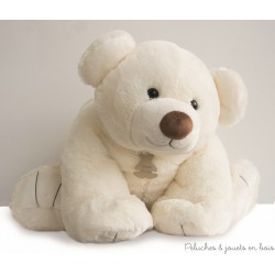 Histoire d'Ours Gros'Ours Ecru 90 cm