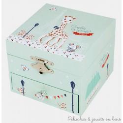 Trousselier Cube Musical Sophie La Girafe Paris