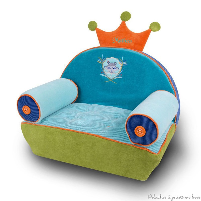 fauteuil vraiteuil laton raveur brod personnalis l 39 oiseau bateau 18 m. Black Bedroom Furniture Sets. Home Design Ideas