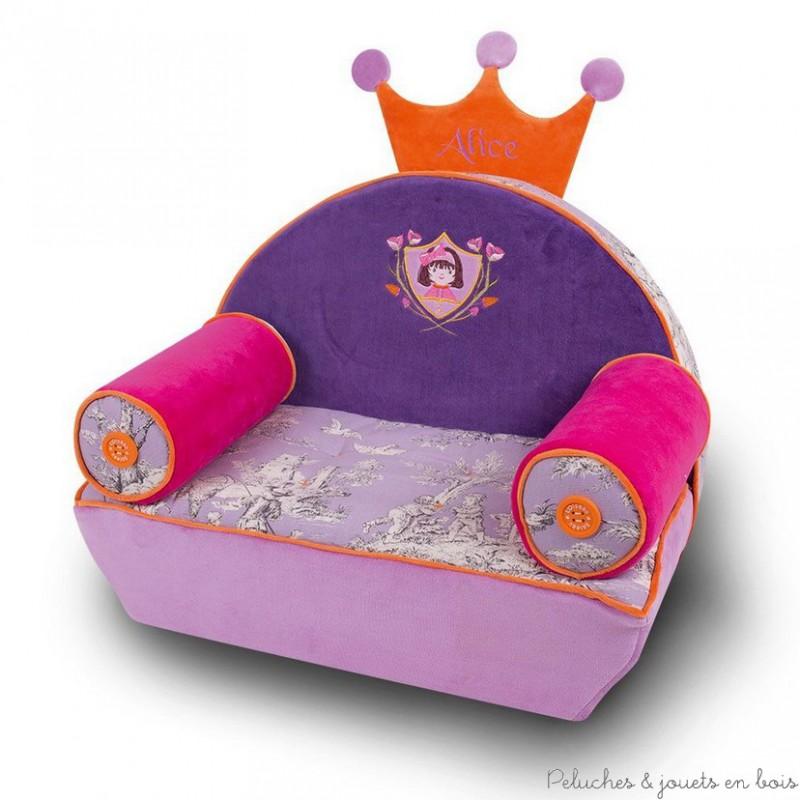 fauteuil vraiteuil alice personnalis 18 mois 8 ans l 39 oiseau bateau. Black Bedroom Furniture Sets. Home Design Ideas
