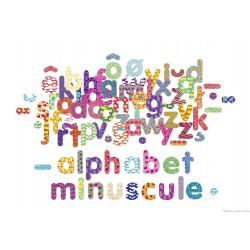 Vilac Magnets alphabet 56 lettres minuscules en coffret bois