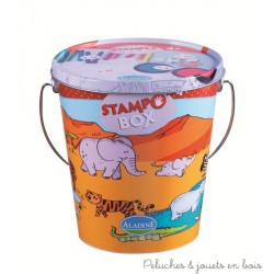 stampobox 4 ans animaux de la jungle