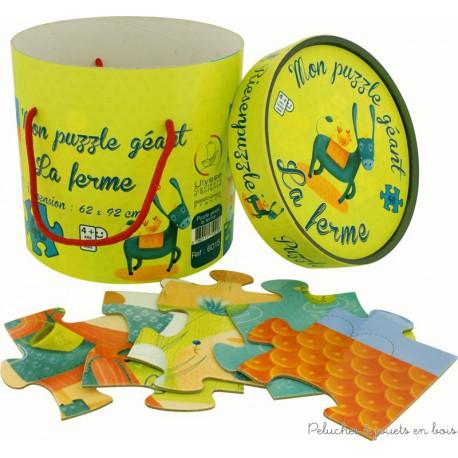 Ulysse, Puzzle Géant Ferme