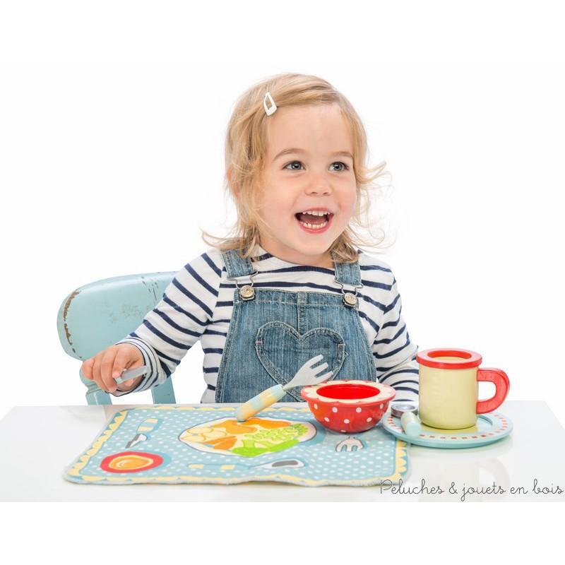 Set de table r versible et couvert marque le toy van 3 ans for Le set de table